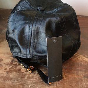 Akoo Accessories - Akoo black satin Hunter Dad hat NEW adjustable OS